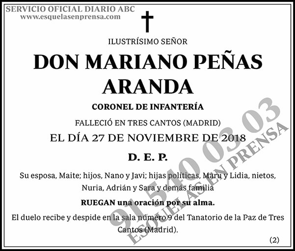 Mariano Peñas Aranda